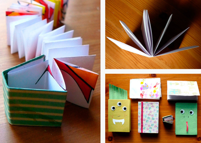 How To Make A Book Easy : Diy delight three ways to make a book brightly